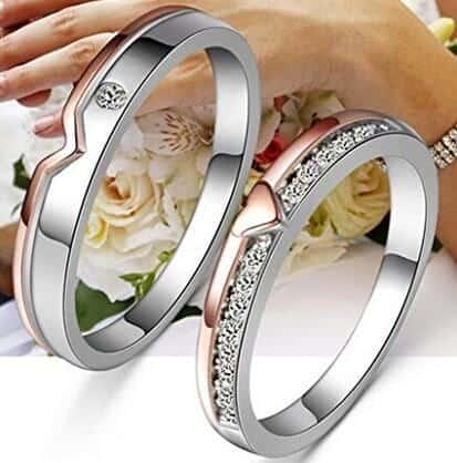 Los mejores 8 anillos de boda originales ordenados por for Precio rodiar anillo oro blanco