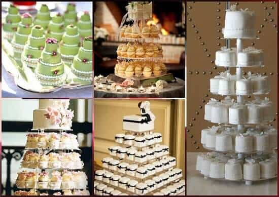 mini tartas boda