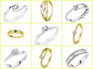 selección joyas prometida