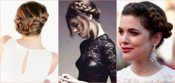 6 tendencias originales de peinados con trenzas para novias for Trenza boda