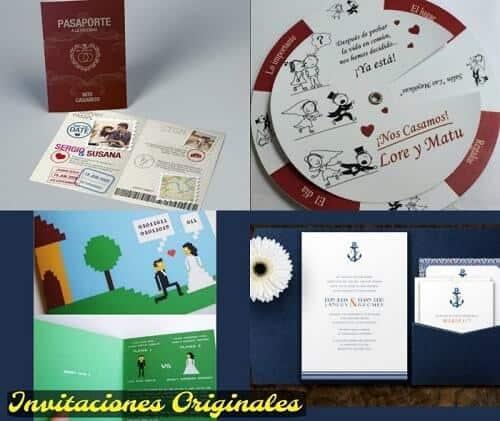 frases para invitaciones de boda originales