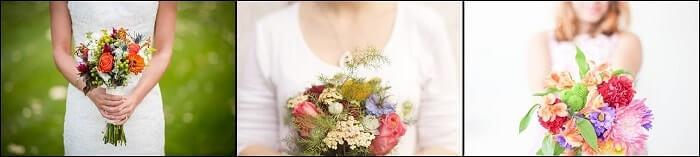 Bouquets asimétricos