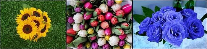 El significado de las flores del bouquet
