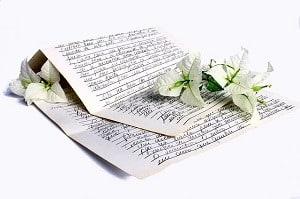 escribir una carta de amor
