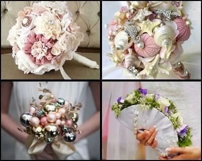 ideas originales para el ramo de novia