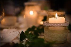 velas protegidas