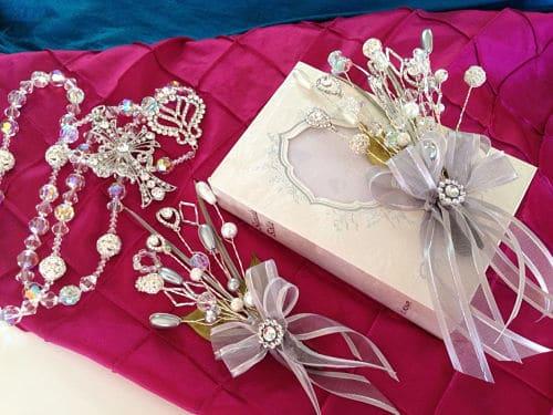 Biblia y Rosario en boda