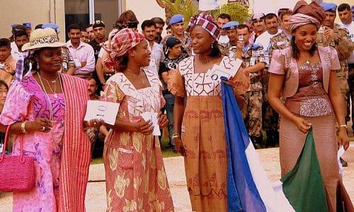 Boda tradicional en África