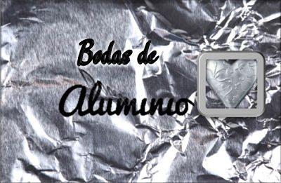 Bodas de aluminio
