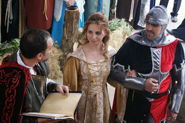 Bodas inspiradas en la Edad Media