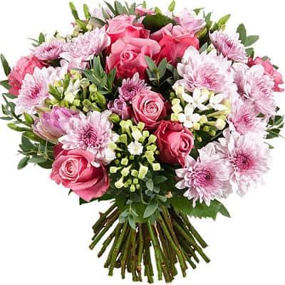 Bouquet de novia con flores silvestres