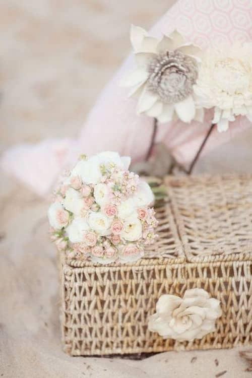 Decoración para boda ecológica