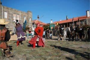 Un combate medieval
