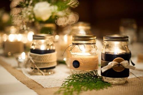 Los detalles en una boda ecológica