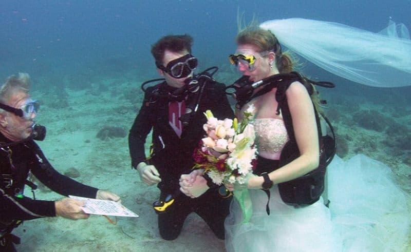 Sí quiero bajo el agua