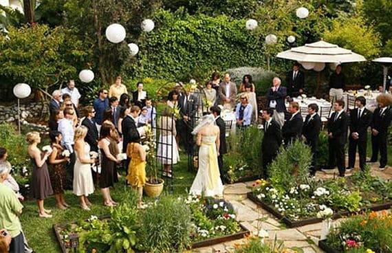 Una boda ecológica