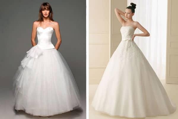 cde536fa9 ▷ 10 cortes de vestidos de novia ideales Tendencia 2018