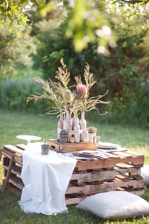Una mesa ecológica