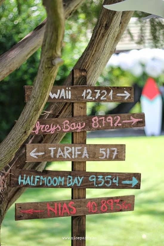 Próximos destinos en una boda surfera