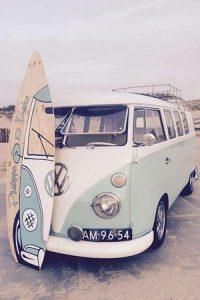 La furgo de tu boda surfera
