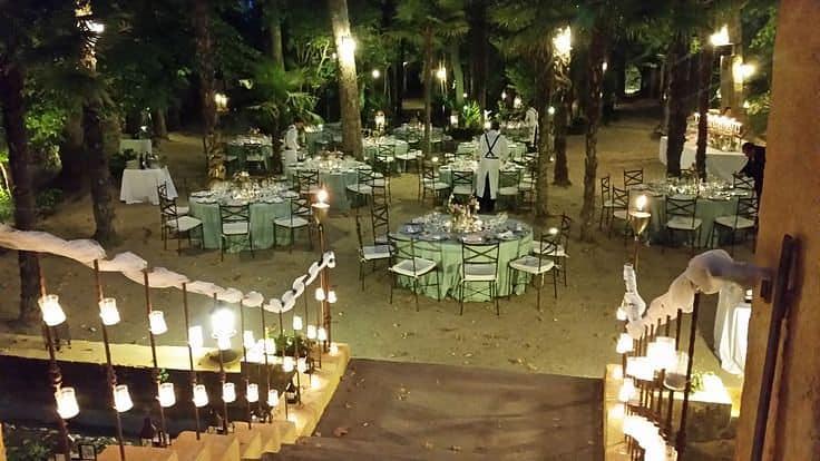 Escenario de una boda ecológica