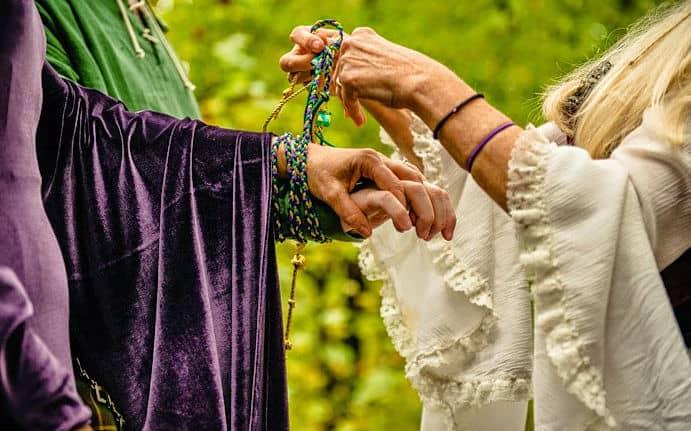 Ritual de una boda celta