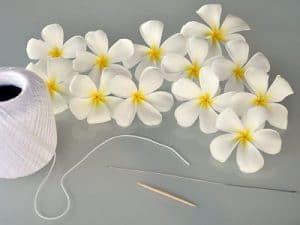 Las guirnaldas hawaianas