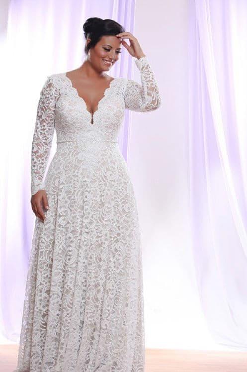 Vestidos de novia para las bodas de plata