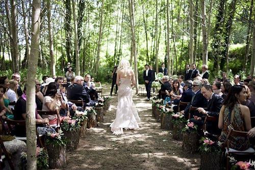 Iniciando la boda