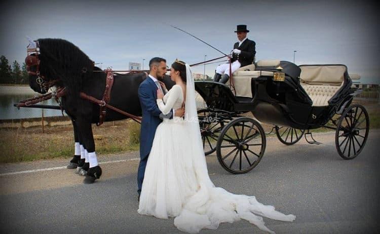 El transporte de su boda ecológica