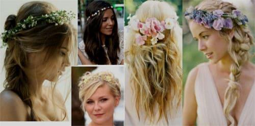 Peinados de novia ibicenca
