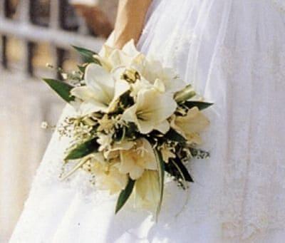 Ramo de novia con lirios