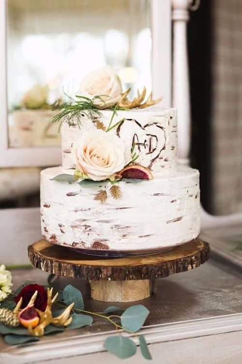 Tarta nupcial nacked cake