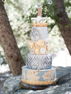 Tarta para una boda medieval