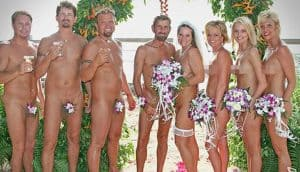Una boda nudista