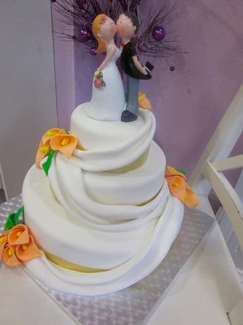 Ttarta de boda original