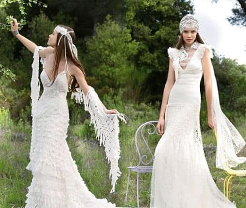 Vestidos para novias ibicencas