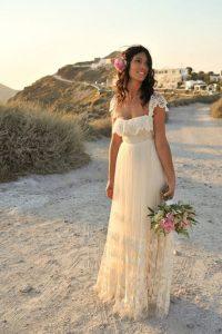 Vestido para una boda surfera