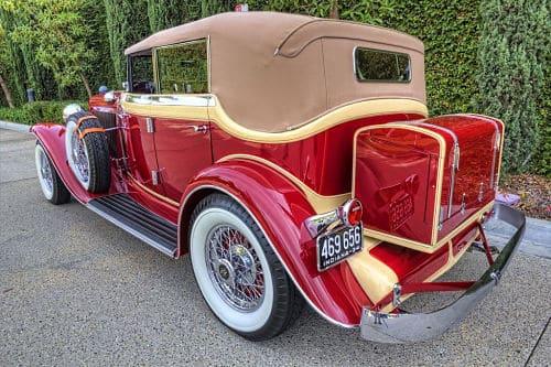 Auburn 1934 para boda