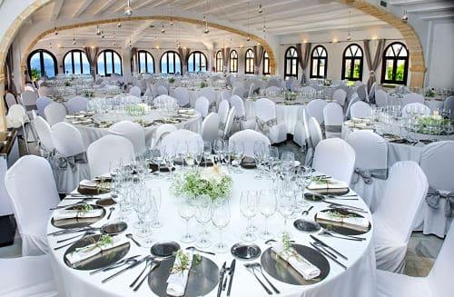 Banquete en una boda