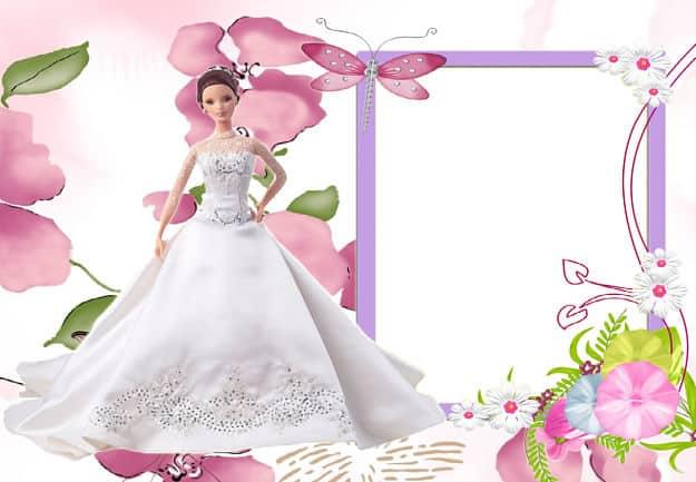 Barbie para foto