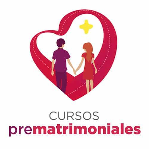 Cartel para cursos prematrimoniales
