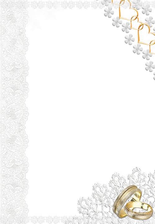 Corazones dorados alianzas de boda