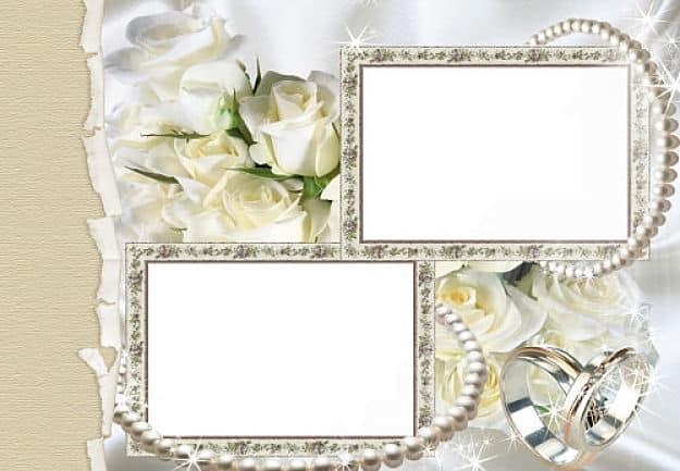 Dos fotos anillos de boda