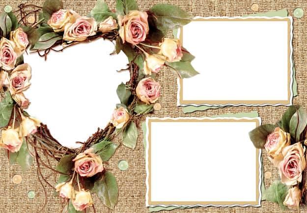 Flores vintage para fotos