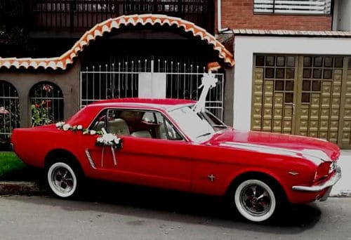 Ford Mustang para boda