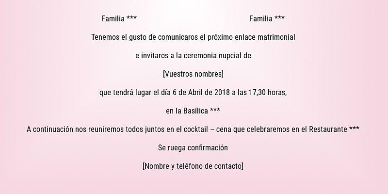 Invitación de boda 10