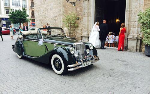 Jaguar MK V para boda