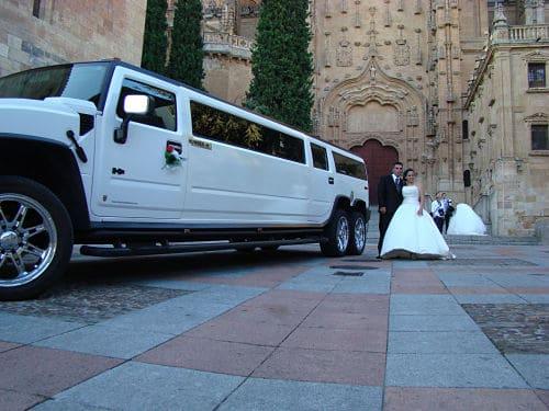 Limusina para boda en Salamanca