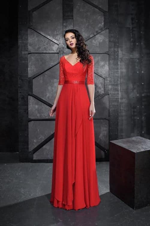 Vestidos sencillos para la madre de la novia